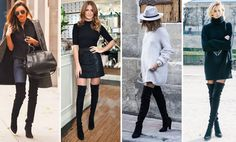Trend Overknee Boots