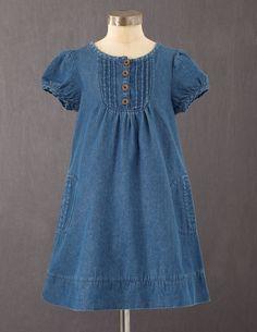 Mini Boden Pretty Pintuck Dress