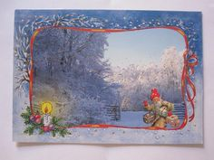 Lucie Lundberg Second Hand, Gnomes, Illustrators, Christmas Cards, Painting, Art, Christmas E Cards, Art Background, Xmas Cards