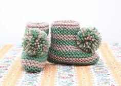 pompom boots