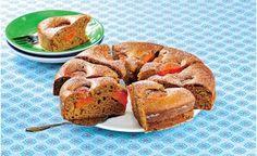 Perník smeruňkami - Apricot Gingerbread cake - Recipe in Czech