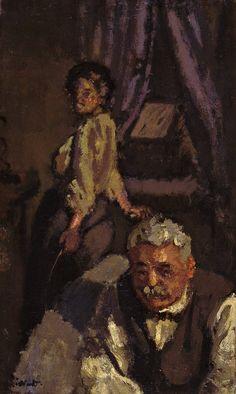 Walter Richard Sickert, 'Ennui' (The Camden Town Group in Context) Walter Sickert, Manchester Art, Camden Town, Impressionist Artists, Historical Images, Artist Gallery, Vintage Artwork, Art Plastique, Figure Painting