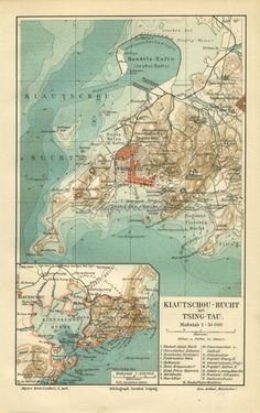 Vintage Maps, Antique Maps, First Wedding Anniversary Gift, China Map, Qingdao, Honeymoon Destinations, All Over The World, Worlds Largest, Im Not Perfect