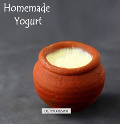 Simple and Easy Homemade Yogurt/ curd Recipe