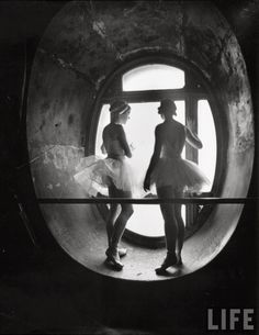 vintage everyday: Dancing in the Attic of the Paris Opera House, ca. 1930