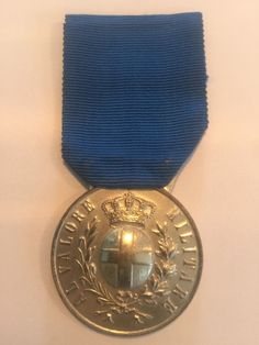WW1 Kingdom Of Italy Medal Of Military Merit 2 nd Cl 1914-18