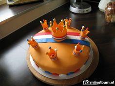 Koningsdag taart :b