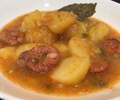 En honor a mi amatxu #patatas a la #Riojana  ...