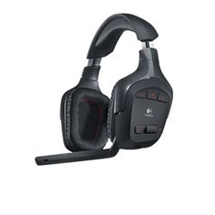 Logitech Wireless Gaming Headset G930 - 7.1 Channel, 2.4GHz Wireless Connection, 3 Programmable G-Keys, 10 Hour Battery Life, Voice Morphing.