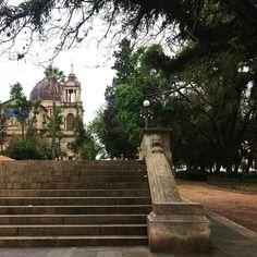 """""""trabalhando no que amo e admirada com a surpreendente vista"""" #arquitetura #ahessarquitetura #portoalegre #centrohistorico #divinaarquitetura"""