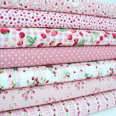 Fabric Ribbon, Cool Fabric, Pink Fabric, Floral Fabric, Fabric Websites, Sewing Circles, Shabby Fabrics, Fabric Combinations, Fabric Journals