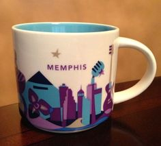 Starbucks City Mug You Are Here in Memphis