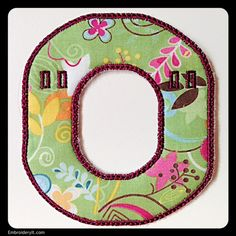 O - Embroidery It | Creative Embroidery Designs