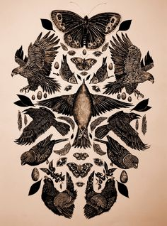 These would make really pretty tattoos. Maybe a few of them in the pattern they already have.