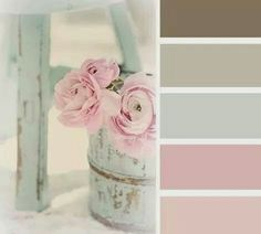 I want to walk in and sigh from the softness of powdery color