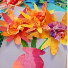 Here is a colorful lesson that is sure to brighten your day! Link- http://www.paintedpaperart.com/2012/05/painted-paper-bouquets/  #elementaryteacher #elementaryart #primaryart #teachersfollowteachers #artteachersfollowartteachers #artclass #kidsart #arteducation #kidsartwork #kidscrafts #iteach #iteachart #tpt