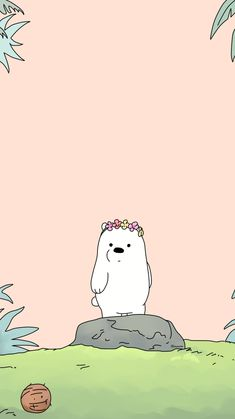 From We bare bears. Cute Panda Wallpaper, Cartoon Wallpaper Iphone, Bear Wallpaper, Cute Disney Wallpaper, Kawaii Wallpaper, Unique Wallpaper, We Bare Bears Wallpapers, Panda Wallpapers, Cute Cartoon Wallpapers