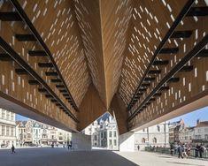 Market Hall in Ghent Marie-José Van Hee Robbrecht  Daem