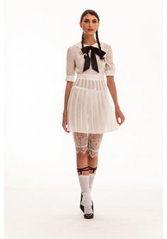 The Schoolgirl Outfit Lace