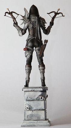 Diablo III - Demon Hunter by ~123samo on deviantART (cropped for detail)