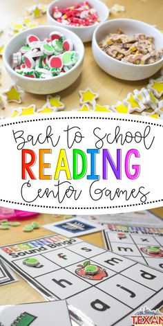 Back to School is such an exciting time, and it's the perfect time to boost foundational reading skill while helping our Kindergarten students learn how to work in groups!  I love that these games address literacy standards (letter naming, letter sounds, beginning sounds, syllables, and sight words) but also provide a chance for partner work!  These are absolutely perfect for centers!