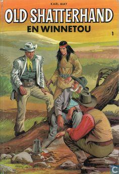 Strips - Winnetou en Old Shatterhand - Old Shatterhand en Winnetou 1