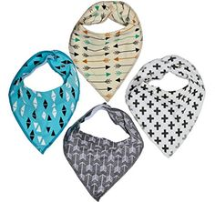 Baby Bandana Drool Bibs - Stylish Unisex 4-Pack Absorbent Cotton with Adjustable Snaps - Great Shower Gift for Infants & Toddlers, Boys & Girls Jersey Lane http://www.amazon.com/dp/B0186HUG8E/ref=cm_sw_r_pi_dp_V-xHwb1R83F5W