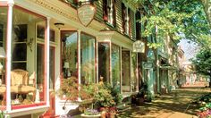 CHESAPEAKE BAY TOWNS: Walk down the picturesque cobblestone streets of Chestertown. Photograph by Pat Blackley/Alamy.