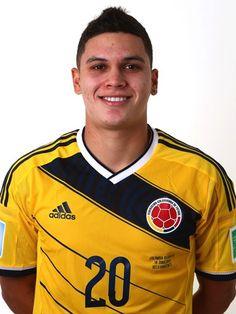 Las fotos oficiales de #Colombia #Fifa #Brasil2014 - Juan Fernando Quintero