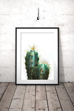 Arte Cactus imprimible Cactus planta fotografía de Cactus