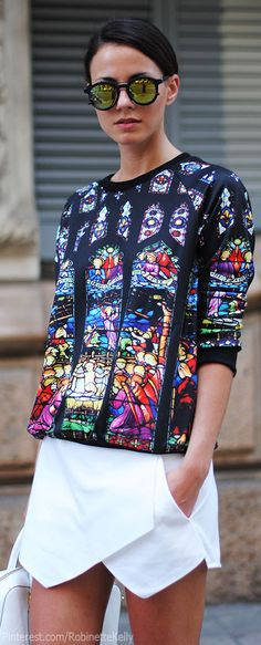 Street Style   Zina Charkoplia of FashionVibe