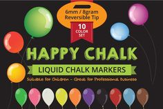 Best Chalk Markers on Amazon you can get on your hands. You can find their versatility on this site. You can use these chalk markers as glass markers, paint markers, window markers, washable markers and many many more. Go check it out!