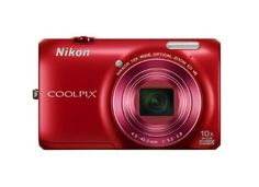 Nikon COOLPIX S6300 16 MP Digital Camera with 10x Zoom NIKKOR Glass Lens and Full HD 1080p Video (Red) http://goo.gl/PnS6H