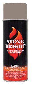 Stove Bright Ti-8117 High Temperature Paint, 1200 Degree F Operating Temperature Range, 12 Oz Aerosol, Almond, 2015 Amazon Top Rated High Temperature Caulk #BISS