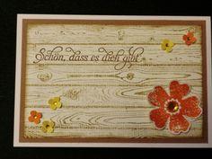 Sconebeker Stempelscheune - Stampin up Sets : Liebesgruß, Flower Shop, Hardwood
