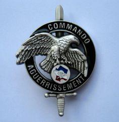 FRENCH COMMANDO AGUERRISSEMENT TRAINING - 1st CHOC - CNEC - GS145