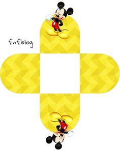 Uau! Veja o que temos para Forminhas Docinhos 3D Mickey