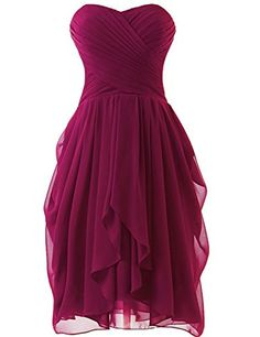 NOVIA Women's Sweetheart Short Chiffon Knee-length Bridesmaid Homecoming Dresses US 14 Fushia NOVIA http://www.amazon.com/dp/B018RSZARY/ref=cm_sw_r_pi_dp_dTi1wb1PZB8NX