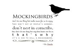 quotes from to kill a mockingbird | to kill a mockingbird quote typography created by me in microsoft word ...