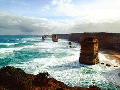TWELVE APOSTLES  Great Ocean Road - VIC Australia . Seven of the remaining Nine of the amazing Twelve Apostles of The Great Ocean Road. Victoria Australia. . Sete dos Nove remanescentes dos Doze Apóstolos da Great Ocean Road. Victoria Austrália. . #australia #australesius2016 #australiatravel #aussietrip #oz #greatoceanroad #victoria #vic #victoriaaustralia #twelveapostlesmarinenationalpark #worldtravelpro #igersaustralia #princeton #mochileiros #mochileirosgrupofechado #brnomads…