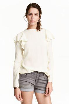 Blusa con volantes | H&M