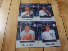 Chris Chambliss Sparky Lyle 2008 Upper Deck Yankee Stadium Legacy 4 Card Lot | eBay #NewYorkYankees #UpperDeck