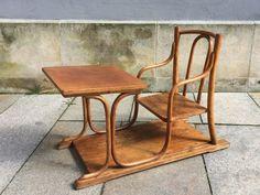 Schulbank / Kindertisch Bugholz Thonet/Kohn, um 1900   eBay