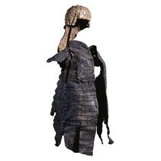 Spectacular Crocodile-skin suit of armor From Roman, 3rd century AD