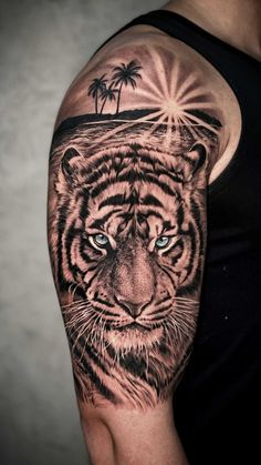 Animal Sleeve Tattoo, Sleeve Tattoos, Simple Lion Tattoo, Tigre Tattoo, Cool Sleeves, Leg Tattoos Women, Art Photography, Angry Animals, Tattoo Designs