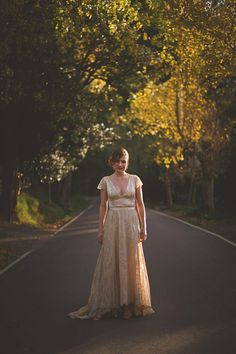 Antique Wedding Dress Photography by Lucy Spartalis