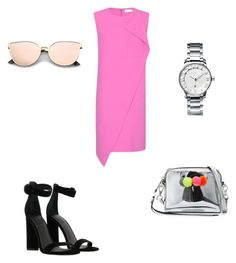 """Sin título #279"" by jocelin-cra on Polyvore featuring moda, Balenciaga, Rebecca Minkoff, Kendall + Kylie y Tiffany & Co."