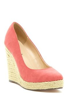 Anabel Straw Wedge