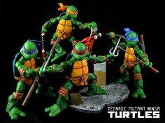 Neca Teenage Mutant Ninja Turtles (Comic Style) |