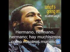 Marvin Gaye - What's going on (Subtitulado en español)